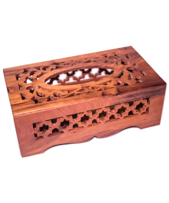 wood Tissue Box WJTB-01-2850