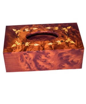 wood Tissue Box WJTB-08-0
