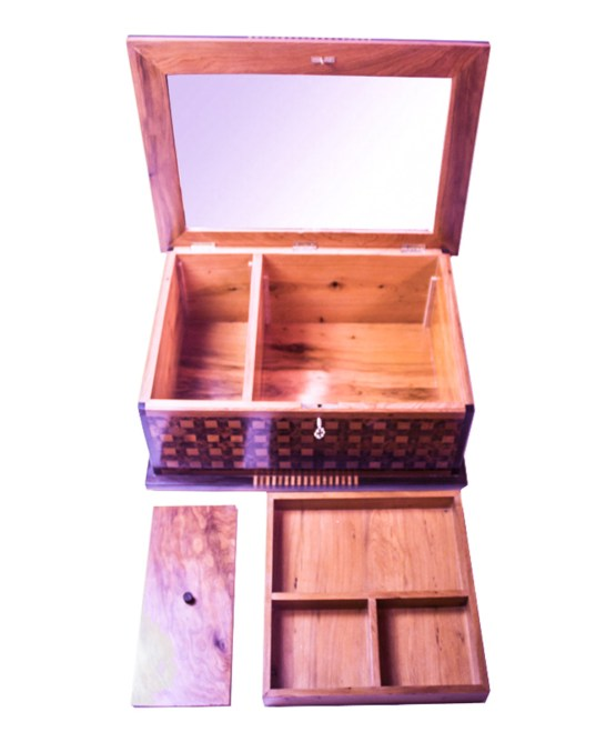 Square wood box SWJB-05-2786
