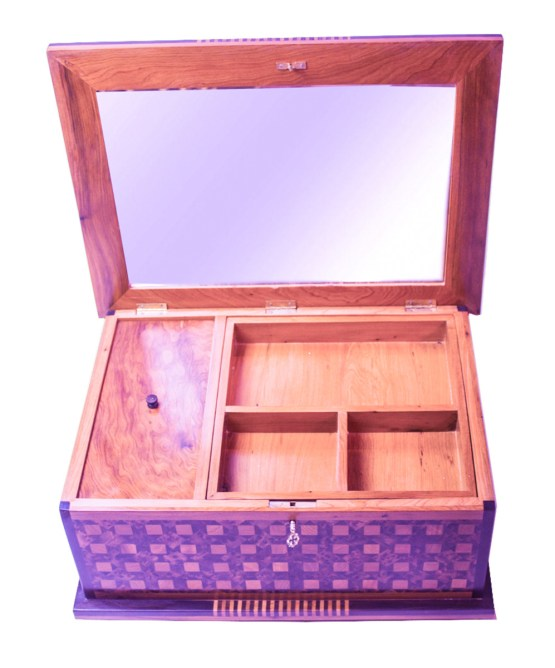 Square wood box SWJB-05-2784