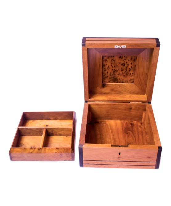 Square wood box SWJB-02-2779