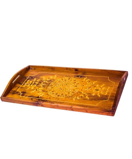 Tray of Thuya wood WP-07WT-2898