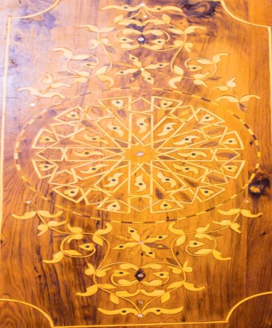 Tray of Thuya wood WP-07WT-2897