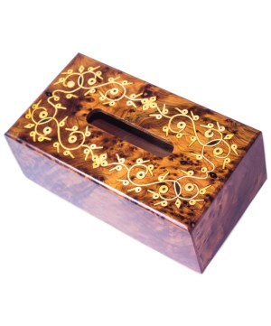 wood Tissue Box WJTB-02-0