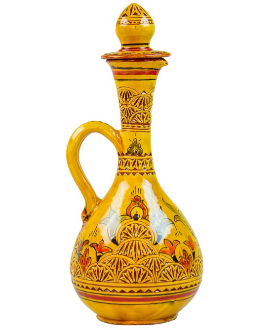 Pitcher Engraved in yellow with his Cup -3034