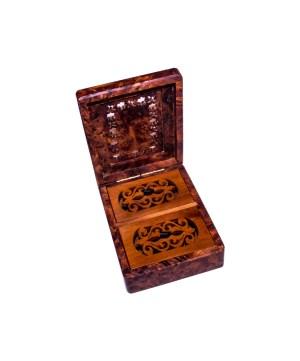 Square wood box SWJB-24-0