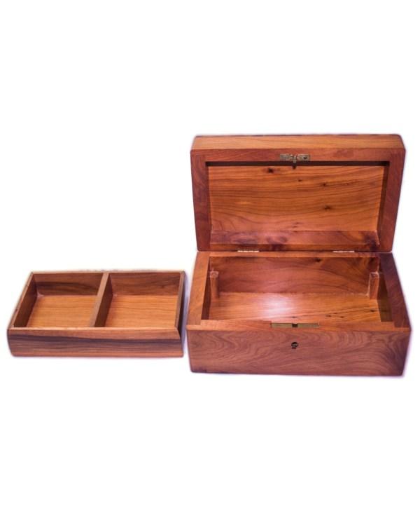 Square wood box SWJB-14-2821