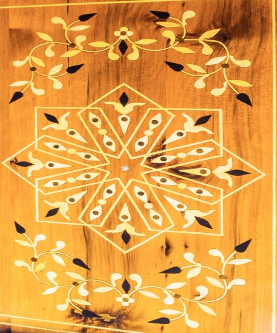 Tray of Thuya wood WP-05WT-2891
