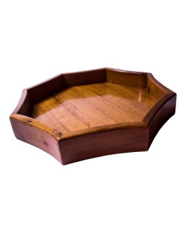 Tray Set made of thuya wood WP-14WT-0