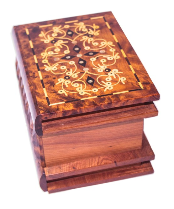 Thuya Wood Mystery Box TW07MB-3318