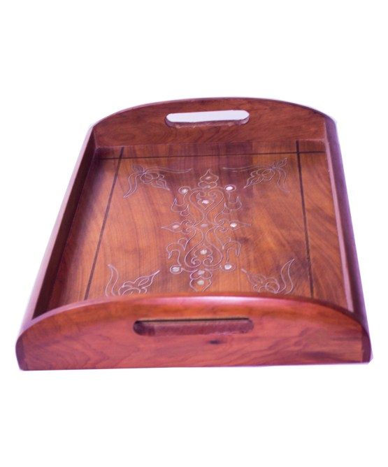 Tray Set made of thuya wood WP-13WT-3280
