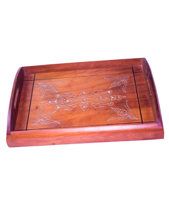 Tray Set made of thuya wood WP-13WT-3277