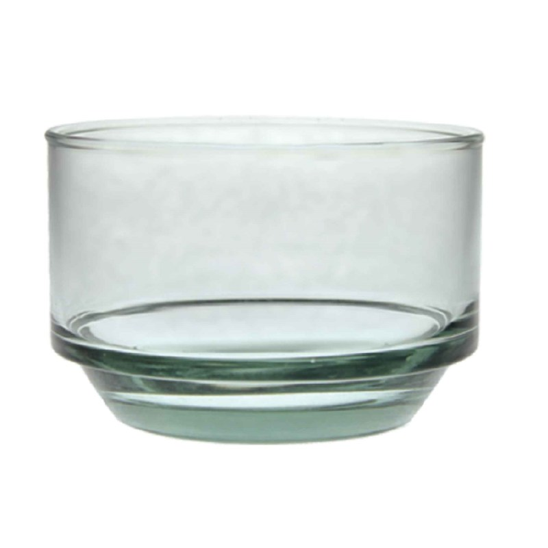 Recycled Glass Stacking Tumbler, Short