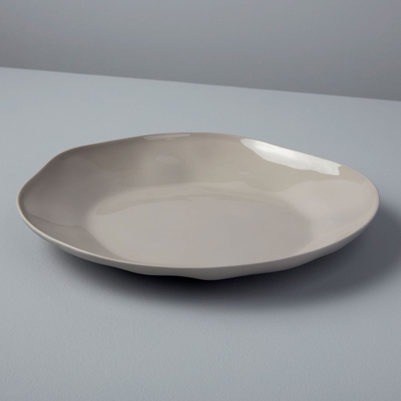 Stoneware Plate Sterling, Large