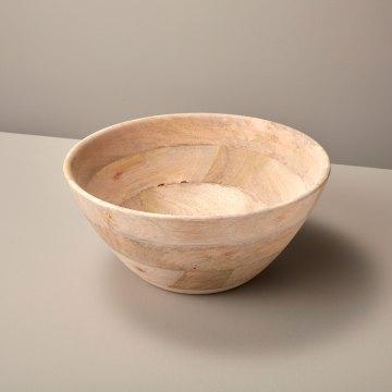Raw Natural Mango Wood Bowl, Large