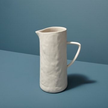 Stoneware Pitcher White