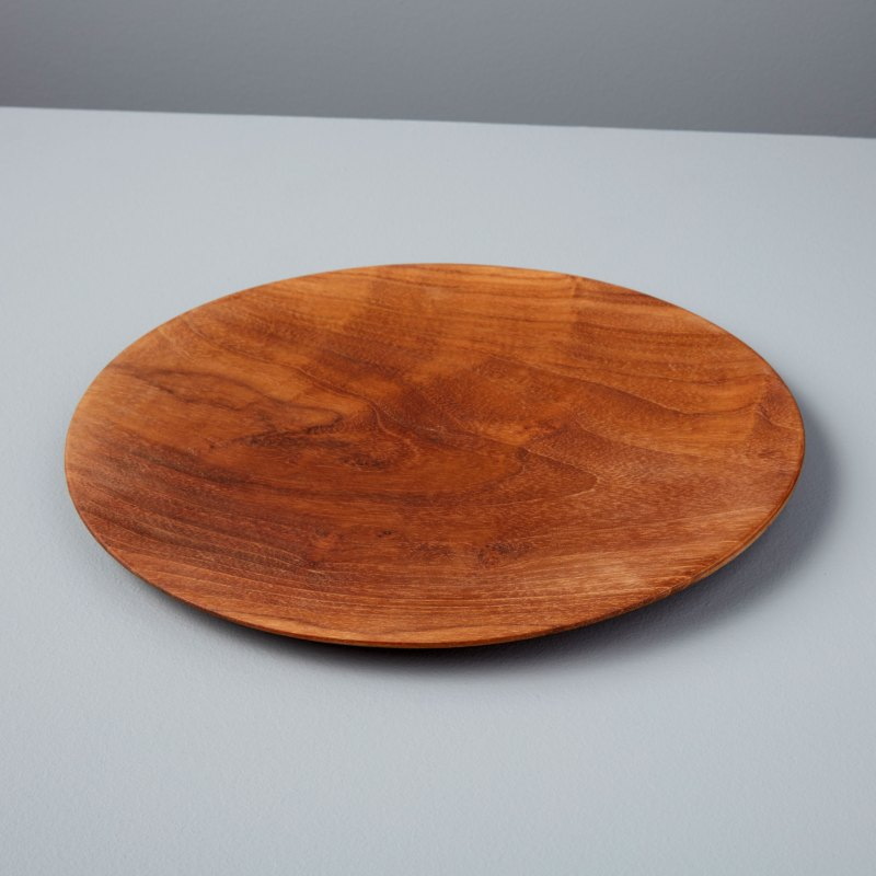 Teak Round Plate Medium