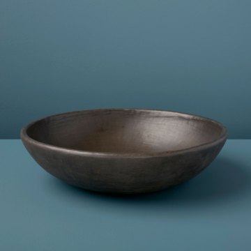 Serpentinite Decorative Serving Bowl