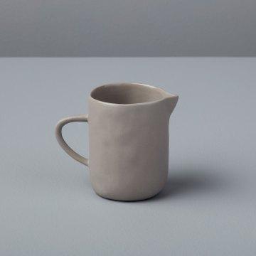 Stoneware Creamer Sterling