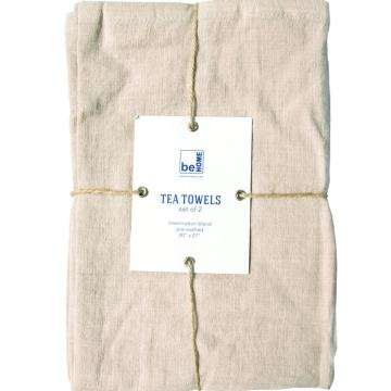Linen Tea Towels Birch Set of 2