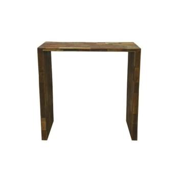 Reclaimed Wood U-Shaped Table, Large