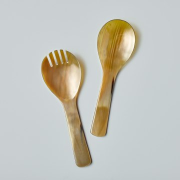 Light Horn Serving Set, Extra Large