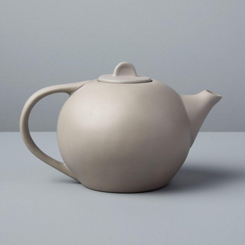 Stoneware Tea Pot, Sterling