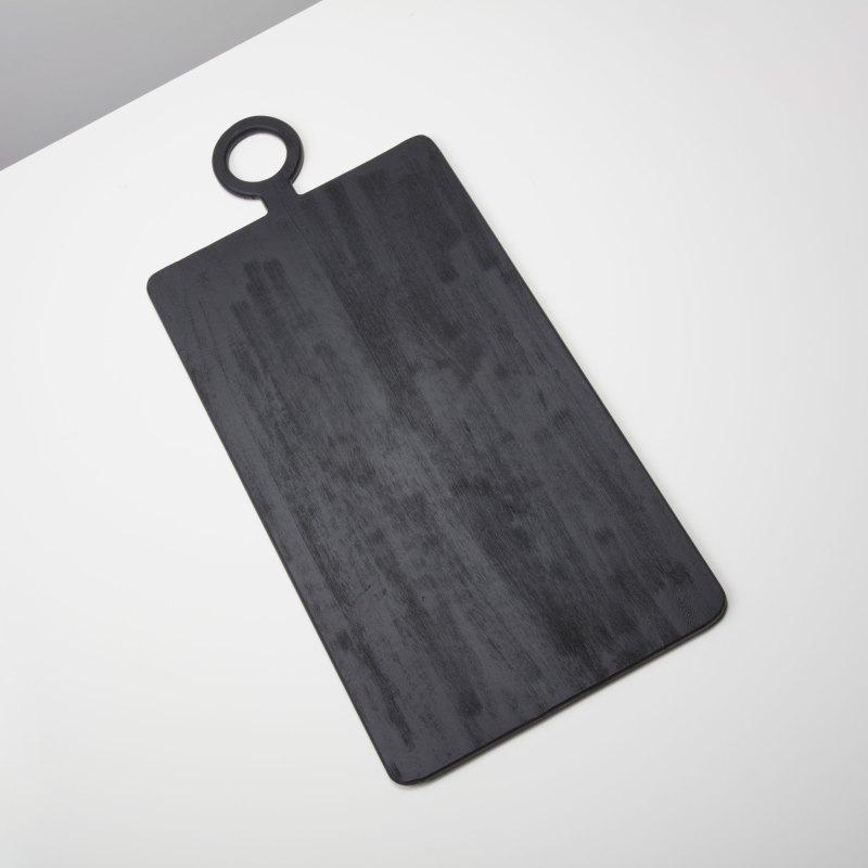 Black Mango Wood Rectangular Board, Extra Large