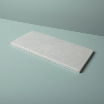 White Marble Rectangular Board