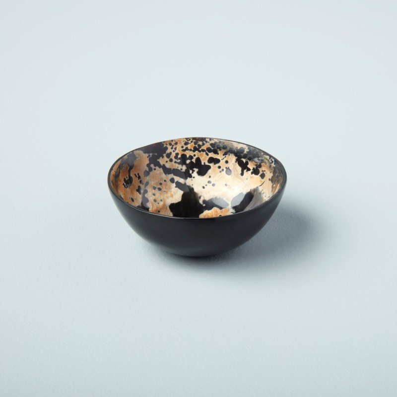 Horn Bowl Speckled Small
