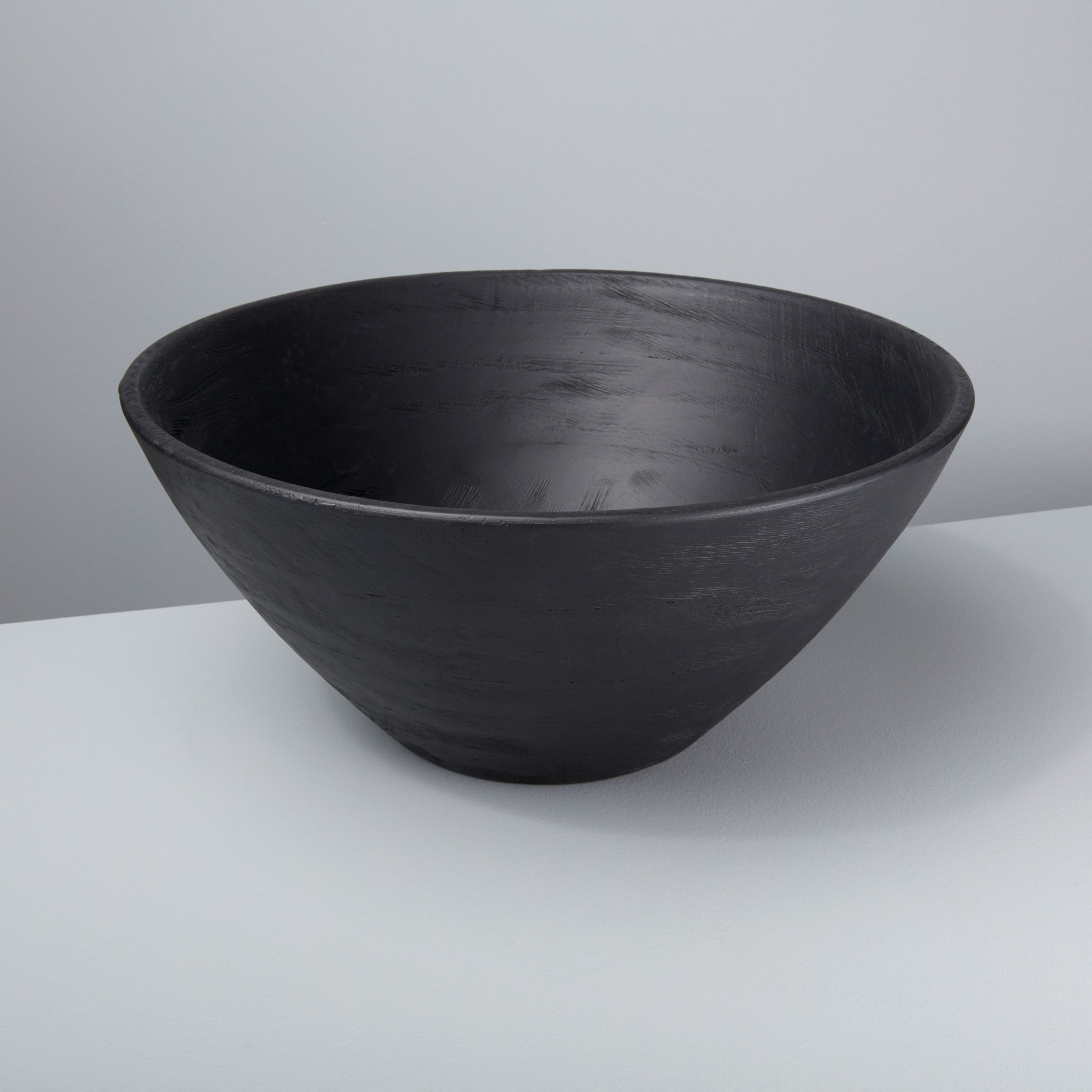 Be Home Black Mango Wood Bowl 85 06
