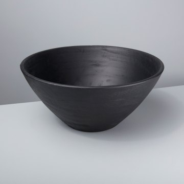 Black Mango Wood Bowl
