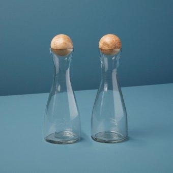 Glass & Mango Decanter, Tall