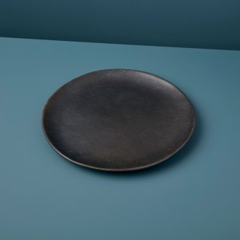 Serpentinite Decorative Plate, Medium