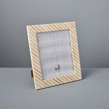 Bone & Horn Frame, 8″ x 10″