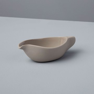 Stoneware Starling Pouring Dish, Sterling