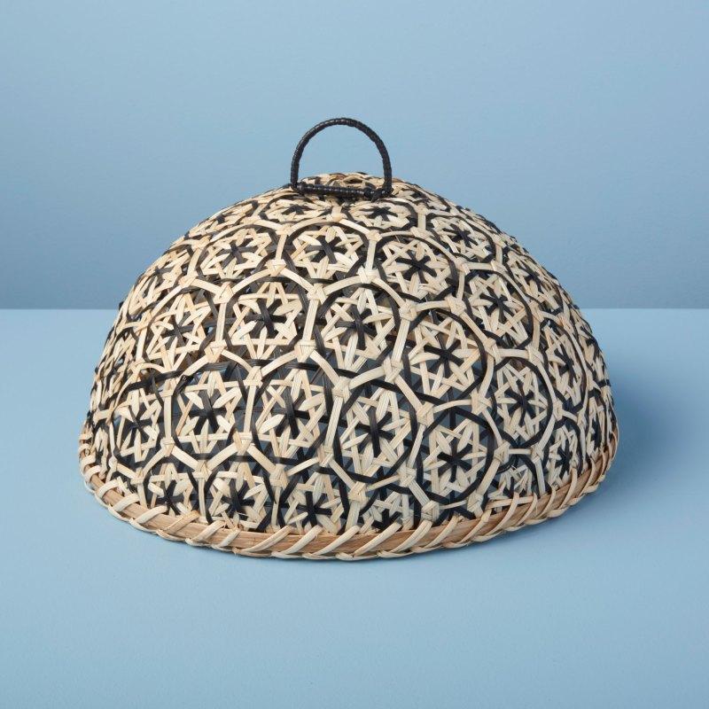 Woven Bamboo Cloche