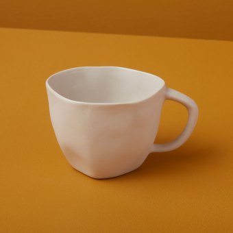 Stoneware Cappucino Cup Sterling
