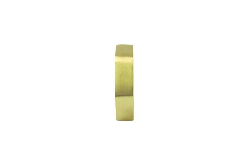 Hexagon Napkin Ring Gold