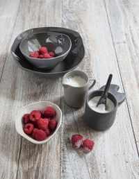 Stoneware Creamer Slate 2