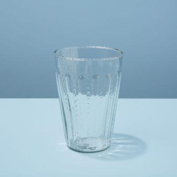 Ruffle Glass Tumbler