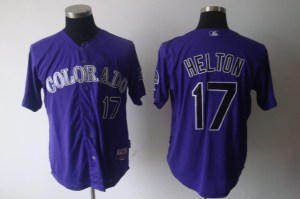 Cheap Colorado Rockies #17 Todd Helton purple MLB jerseys