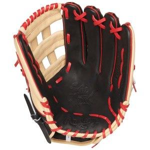 Men's Washington Nationals Bryce Harper Rawlings Black/Tan 13'' Heart of the Hide Player Model Baseball Glove