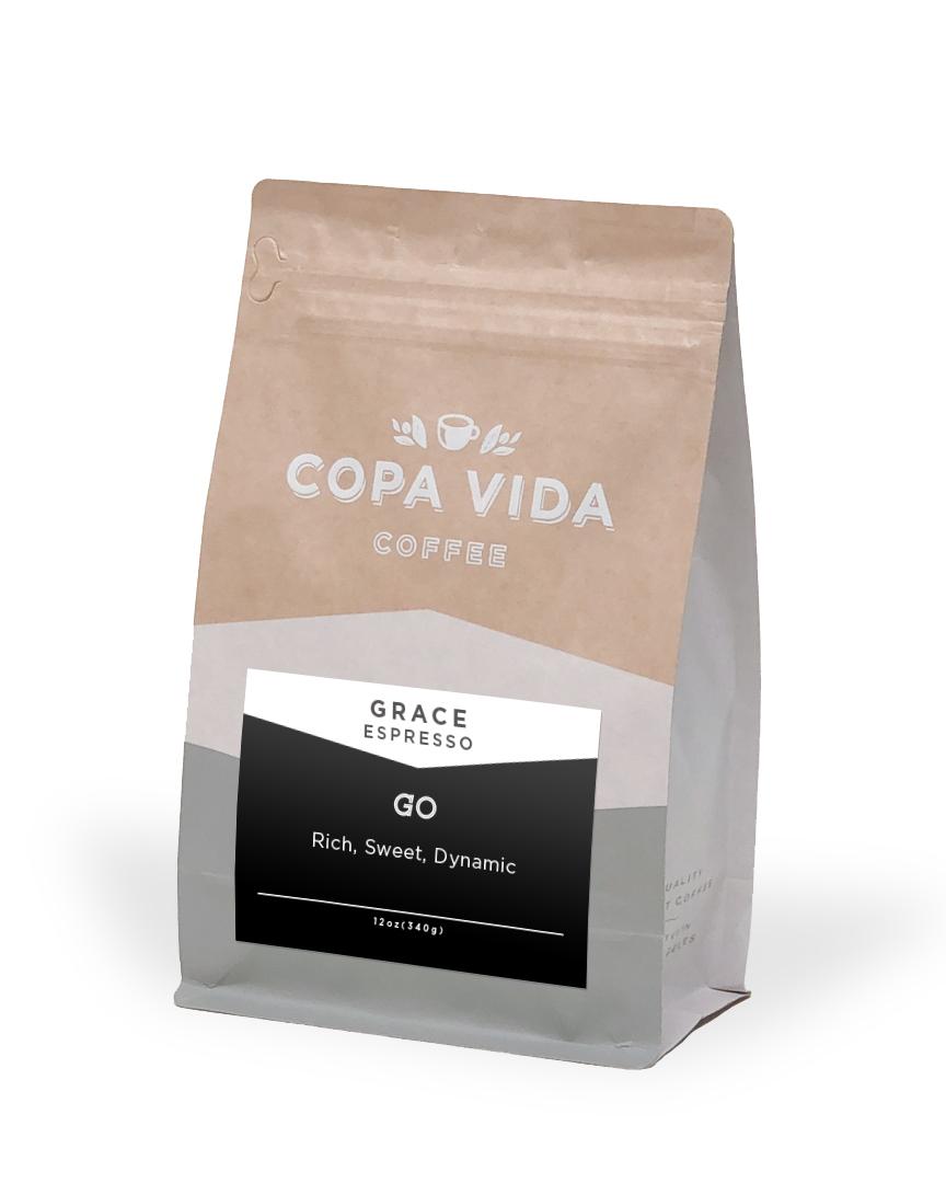 Grace Espresso Blend – 12oz Bags