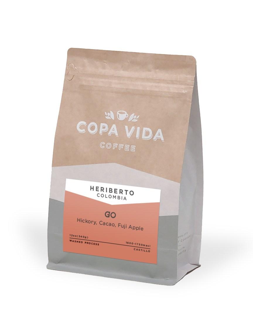 Heriberto, Colombia – 12oz Bags