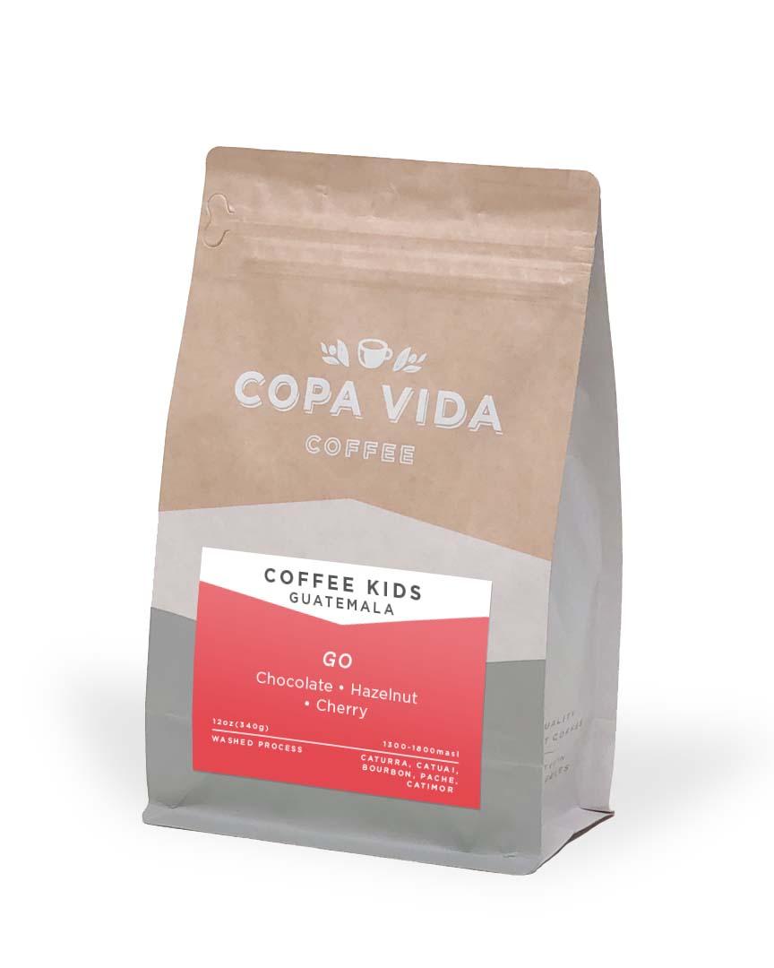 Coffee Kids, Guatemala – 12oz  Bags