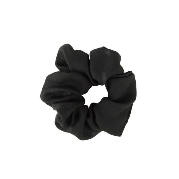 Scrunchie plain black