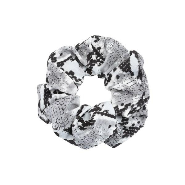 Scrunchie snake grey