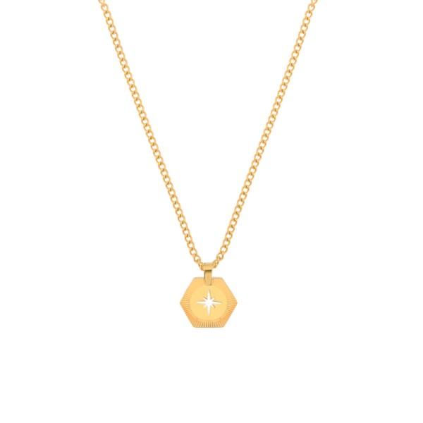 Necklace Northstar gold