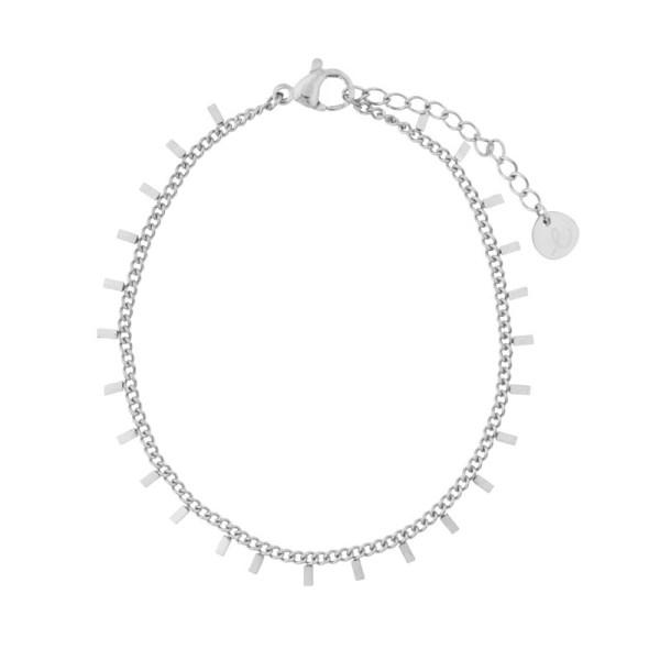 Bracelet bars silver